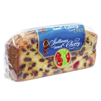 Walkers Sultana & Cherry Cake Slab