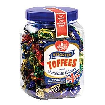 Walkers Assorted Toffee & Eclairs Jar