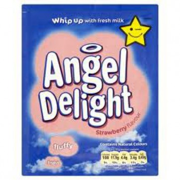 Birds Angel Delight - Strawberry