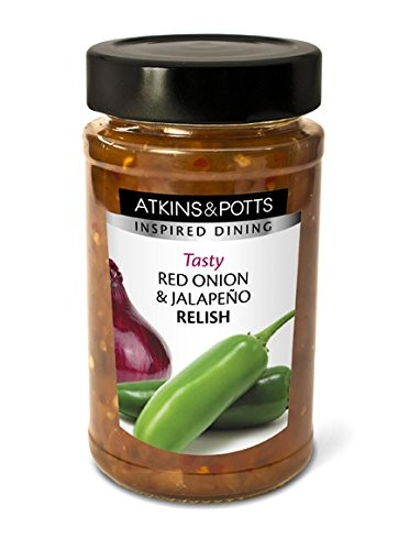 Atkins & Potts Red Onion Jalapeno Relish