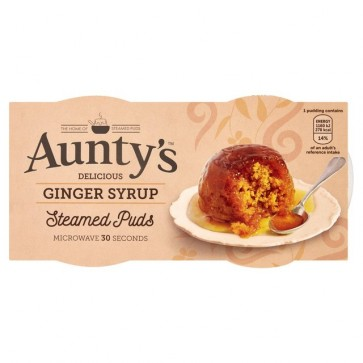 Auntys Ginger Sticky Pudding Duo