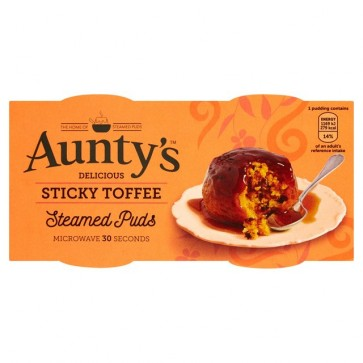 Auntys Sticky Toffee Pudding Duo