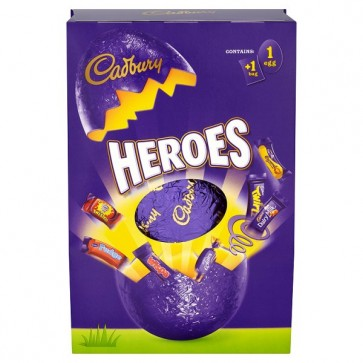 Cadbury Heroes Easter Egg - Large