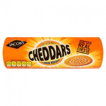 Jacobs Cheddars Cheese Biscuits