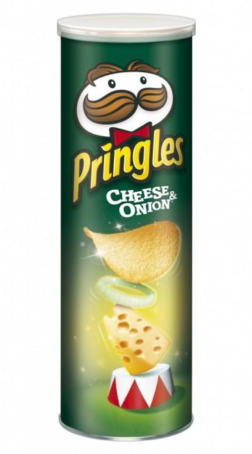 Pringles Cheese & Onion - UK Version