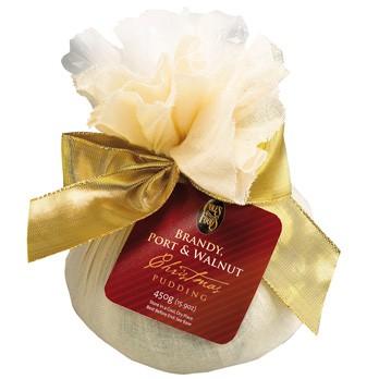 Cole's Brandy Port & Walnut Christmas Pudding