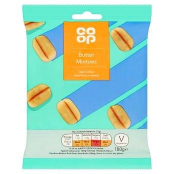 Co Op Butter Mintoes