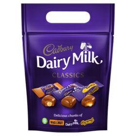 Cadbury Classic Dairy Milk Pouch