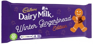 Cadbury Dairy Milk Gingerbread Bar