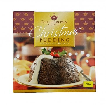 Gold Crown Christmas Pudding - 227g