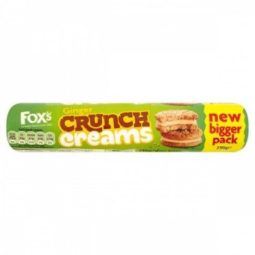 Foxs Ginger Crunch Creams Large