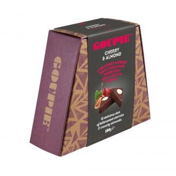 Goupie Dairy & Gluten Free Cherry Almond Chocolate