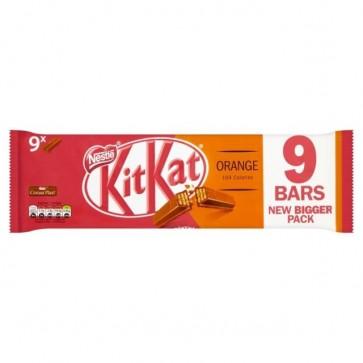 Kit Kat Orange 2 Finger 9pk