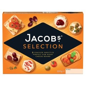 Jacobs Biscuits For Cheese Carton