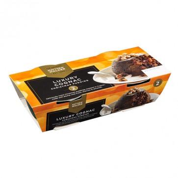 Matthew Walker Luxury Cognac Christmas Pudding Twin Pack