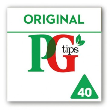 PG Tips Tea Bags - 40
