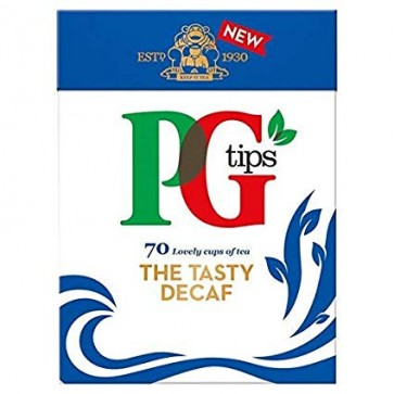PG Tips Decaf Tea Bags. 70s