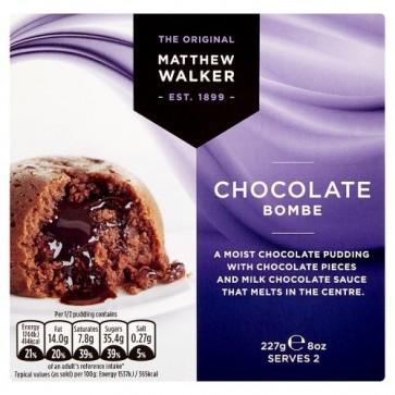 Matthew Walkers Chocolate Bombe Dessert