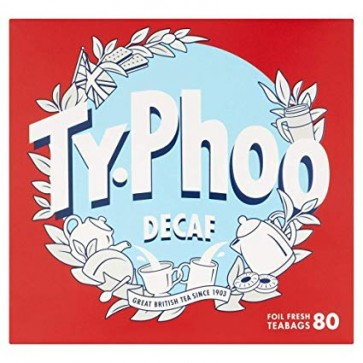Typhoo Decaf Tea - 80s