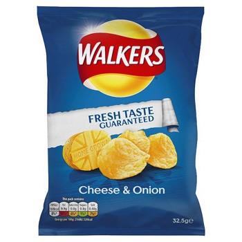 Walkers Cheese n Onion Crisps
