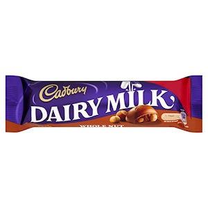 Cadbury Wholenut Standard