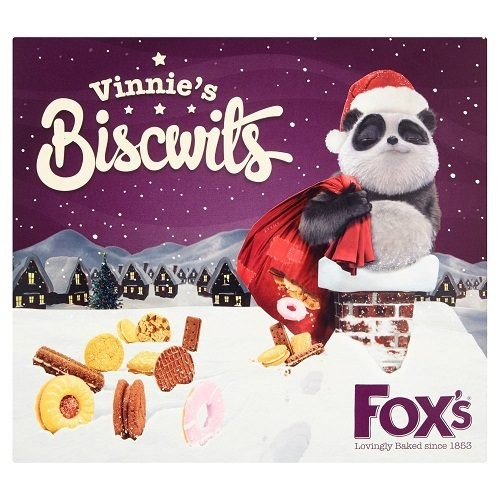 Fox S Vinnie Collection Carton Christmas Biscuits Crackers Snacks
