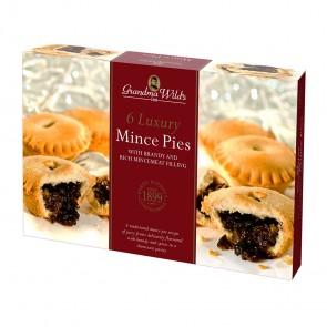 Grandma Wilds Luxury Brandy Mince Pies - 6pk
