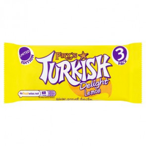 Frys Lemon Turkish Delight 3pk