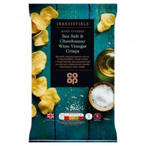 Co Op Sea Salt & Chardonnay Wine Vinegar Crisp