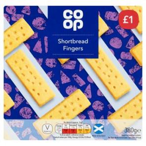 CoOp Shortbread Fingers Large Pack