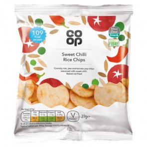Co Op Sweet Chilli Rice Snaps