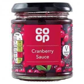 Co Op Cranberry Sauce