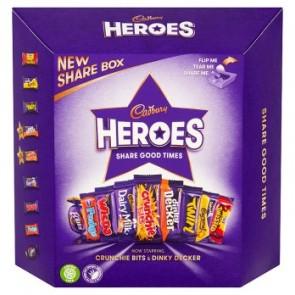 Cadbury Heroes Box