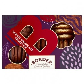 Border Luxury Chocolate Biscuit Selection