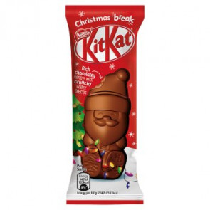 Nestle Kit Kat Santa