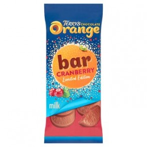 Terrys Milk Chocolate Orange & Cranberry Bar