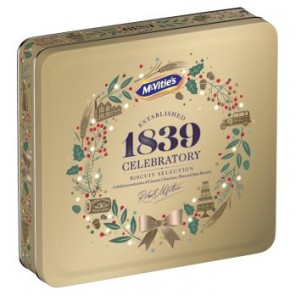 McVities Heritage Biscuit Collection Tin