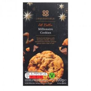 CoOp Millionaires Cookies