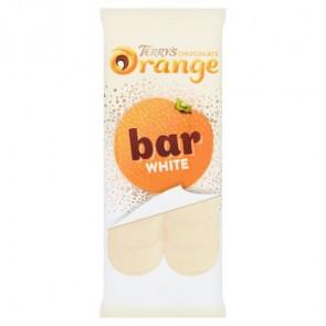 Terrys White Chocolate Orange Tablet