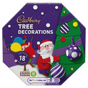 Cadbury Solid Tree Decorations (Double  Size Pack)