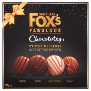 Foxs Chocolatey Winter Desserts Biscuits