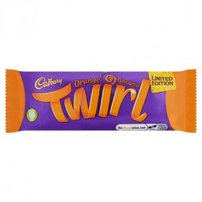 Cadbury Orange Twirl