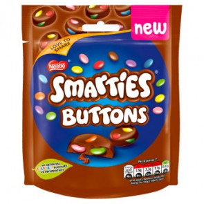 Nestle Smarties Buttons Pouch