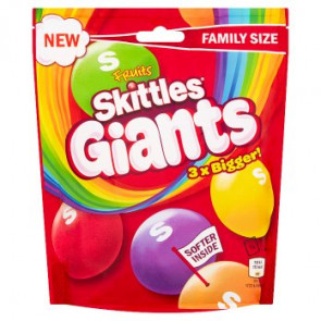 Skittles Fruit Giants Pouch