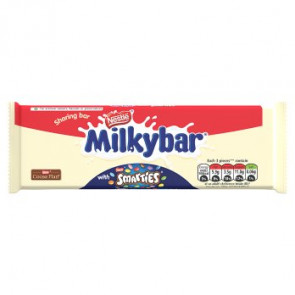Nestle Milkybar Smarties Block