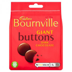 Cadbury Bournville Dark Giant Buttons