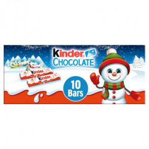 Kinder Mini Chocolate Bars 10pk