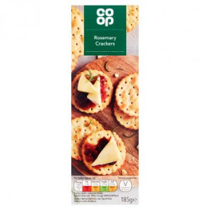 Co Op Rosemary Crackers