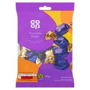 Co Op Milk Chocolate Eclairs