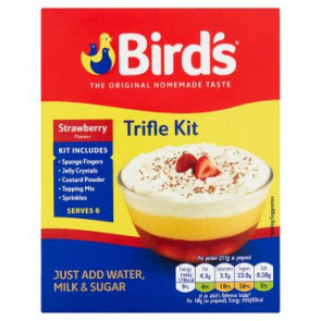 Birds Strawberry Trifle Mix